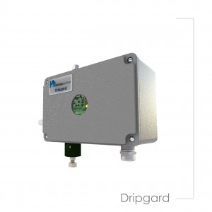 Ddripgard vertical turbine pumps lubrication device