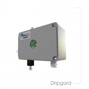 Ddripgard vertical turbine pumps lubrication device